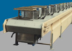 Armorbelt is a heavy duty steel belt conveyor.