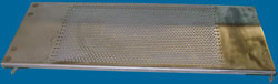 This is a perforated slat. Click to enlarge.