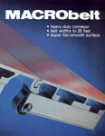 Brochure for the aluminum belt conveyor Macrobelt.