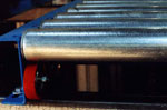 Rollerflo is a gravity flow roller conveyor.
