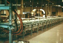 This Process Tunnel® is used to manufacture isocyanurate roofing panels.