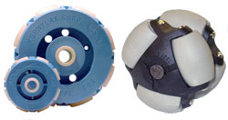 Kornylak offer Transwheels and Omniwheels as robot wheels.