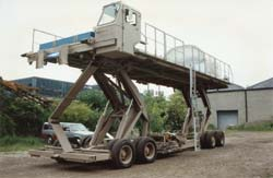 This 40K features a 10' x 40' load deck that can elevate from 41 inch to 13' and carry 40,000-pounds.