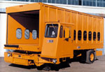 Karry-All cargo lift trucks are available in 2 models: high-lift and low-lift.